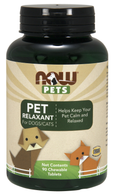 NOW: Pet Relaxant (For Cats and Dogs) 90 Loz