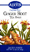 ALVITA TEAS: Ginger Root Tea 24 bags