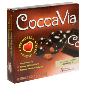 CocoaVia: Choc covered almonds 5 5 OZ