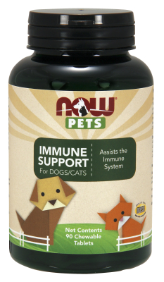 NOW: Pet immune Support 90 Loz