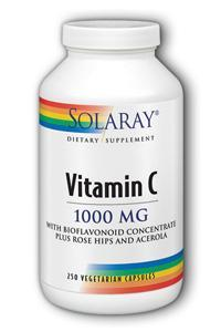 Solaray: C-1000 w RH  Acerola Bioflavonoids 250ct 1000mg
