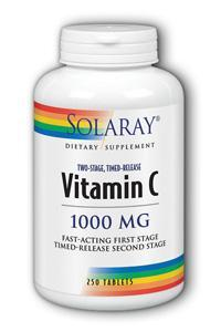 Solaray: C-1000 tablite two stage timed release 250ct 1000mg