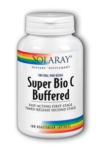 Solaray: Super Bio C - Buffered 100ct 1000mg