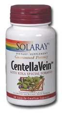 Solaray: CentellaVein Special Formula 60ct