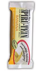 Natures Plus: Spirutein Banana Yogurt Coated Bars 20 Bars