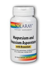 Magnesium and Potassium Asporotates with Bromelain, 60ct