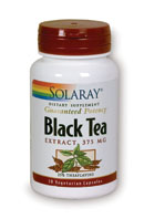 Solaray: Black Tea Extract 30ct 94mg theaflavins