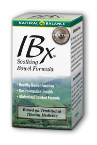 Natural Balance: IBx Bowel Formula 120 Cap