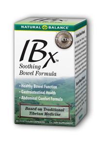 Natural Balance: IBx Bowel Formula 60 Cap