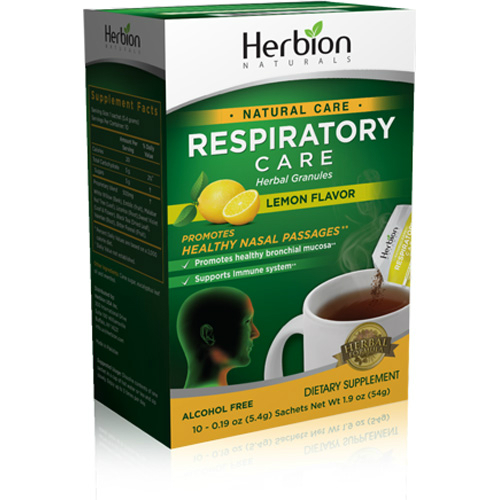 Respiratory Care Granule Packets Lemon