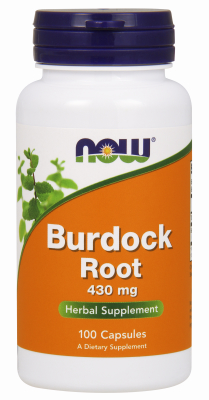 BURDOCK ROOT 430mg  100 CAPS, 100 caps