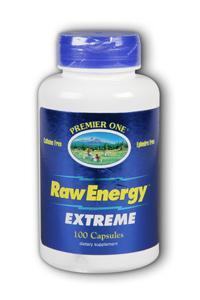 Premier One: Raw Energy Extreme 100ct 720mg