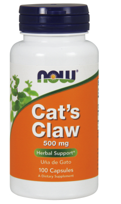 NOW: CAT'S CLAW 400mg  100 CAPS 100 CAPS