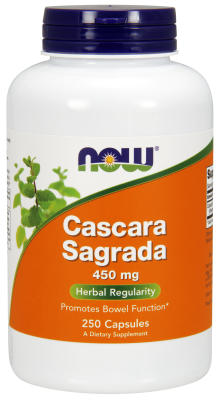 CASCARA SAGRADA 450mg, 250 CAPS