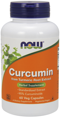 NOW: CURCUMIN EXT 665mg 60 vcaps
