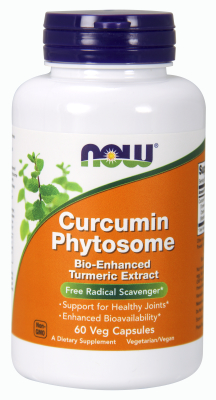 NOW: Bio Curcumin Phytosome 500mg 60 Vcaps