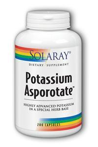 Solaray: Potassium-99 Asporotate 200ct 99mg