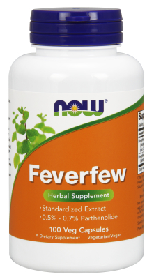 NOW: FEVERFEW 400mg  100 CAPS 1
