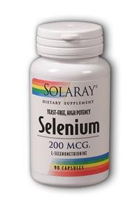 Solaray: Yeast-free Selenium 100 90ct 100mcg