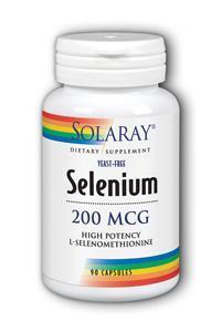 Solaray: Yeast-free Selenium-200 90ct 200mcg