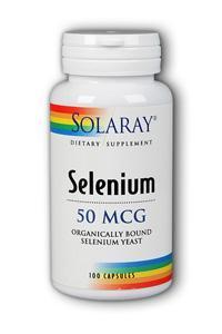 Solaray: Selenium-50 100ct 50mcg
