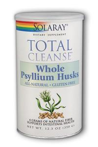 Solaray: Total Cleanse Psyllium Husks Unflv 3 pack