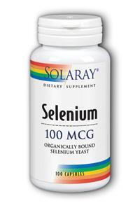 Solaray: Selenium-100 100ct 100mcg