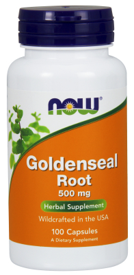 GOLDENSEAL ROOT 500mg  100 CAPS, 1