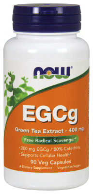 NOW: EGCg Green Tea Extract 90 Vcaps 400mg