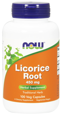 NOW: LICORICE ROOT 450mg  100 CAPS 1
