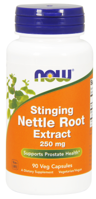 NOW: NETTLE ROOT EXTRACT 250mg  90 VCAPS 1