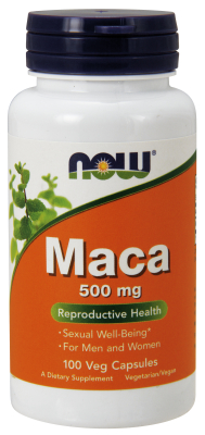 NOW: MACA 500mg  100 CAPS 1