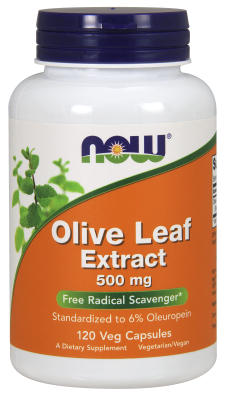 OLIVE LEAF EXT 500mg  120 VCAPS, 1