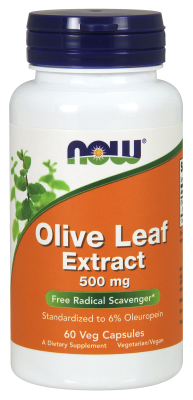 OLIVE LEAF EXT 500mg    6  60 VCAPS, 1
