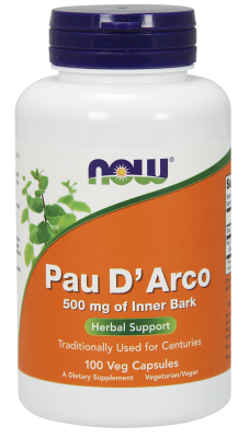 NOW: PAU D' ARCO 500mg  100 CAPS 1