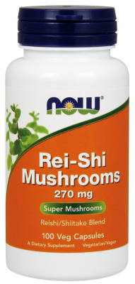 REI-SHI MUSHROOMS 270mg  100 CAPS, 1