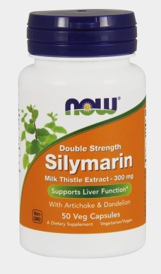 NOW: SILYMARIN 2X 300mg  50 VCAPS 1