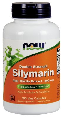NOW: SILYMARIN 2X 300mg  100 VCAPS 1