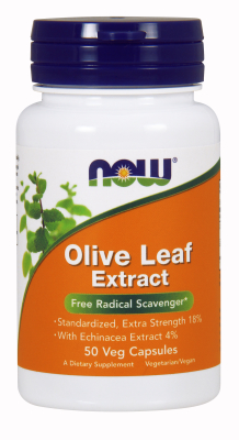 OLIVE LEAF EXT 18%  500mg 50 VCAPS, 1