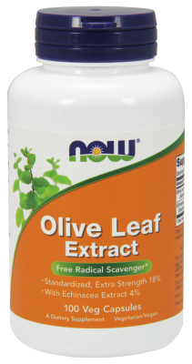 OLIVE LEAF EXT 18% 500mg  100 VCAPS, 1