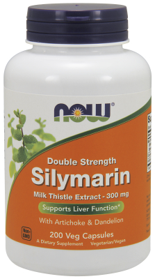 NOW: Silymarin 300mg 200 Vcaps