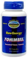Premier One: Raw Energy YohimBee 60ct