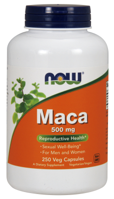 NOW: Maca 500mg 250 Caps