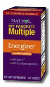 NATROL: My Favorite Multiple Energizer 60 tabs