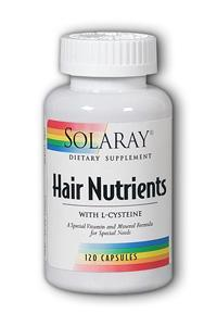 Solaray: Hair Nutrients 120ct