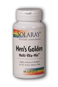 Solaray: Men's Golden Multi-Vita-Min 90ct