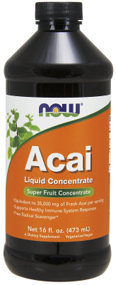 NOW: Acai Liquid Concentrate 16 fl oz
