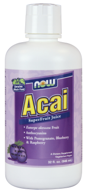NOW: Acai Concentrate 32 oz