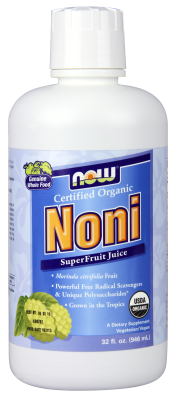 NOW: Certified Organic Noni Juice 32 oz