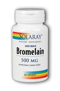 Solaray - Bromelain 60ct 500mg